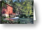 Quite Greeting Cards - Morning Mill  Greeting Card by Robert Deeter
