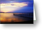 Jensen Beach Greeting Cards - Morning Peace Greeting Card by Joyce L Kimble
