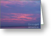 Merrimac Greeting Cards - Morning skyline Greeting Card by Chris Howe