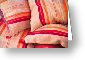 Selection Greeting Cards - Moroccan cushions Greeting Card by Tom Gowanlock