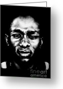 Mos Def Greeting Cards - Mos Def Greeting Card by Brian Curran