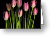 Flowers Floral Greeting Cards - Mother Greeting Card by Deborah J Humphries