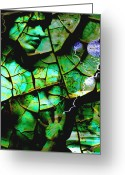 Ym_art Greeting Cards - Mother Earth Greeting Card by Yvon -aka- Yanieck  Mariani