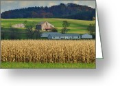 Amish Family Greeting Cards - Mother Inlaw Suite Greeting Card by Robert Harmon