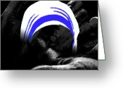 Mother Teresa Greeting Cards - Mother Teresa Greeting Card by Arindam  Sarmah