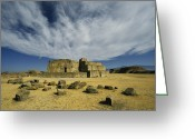 Observatories Greeting Cards - Mound J Astronomical Observatory, Monte Greeting Card by Martin Gray