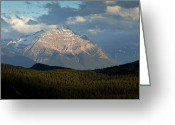 Edith Greeting Cards - Mount Edith Cavell, Canada Greeting Card by Bob Gibbons