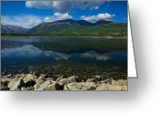 Colorado Mountains Greeting Cards - Mount Elbert Greeting Card by Tim Reaves