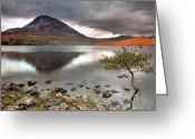 Klarecki Greeting Cards - Mount Errigal Greeting Card by Pawel Klarecki