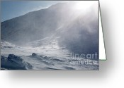 Mountain Summit Greeting Cards - Mount John Quincy Adams - White Mountains NH Greeting Card by Erin Paul Donovan