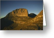 Hera Greeting Cards - Mount Olympus, Home Of The Gods Greeting Card by Martin Gray