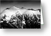 Mountain Peaks Greeting Cards - Mount Ruth in the Washington Cascade Mountains Greeting Card by Brendan Reals
