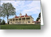 Dj Florek Greeting Cards - Mount Vernon Greeting Card by DJ Florek