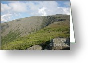 Mt. Washington Greeting Cards - Mount Washignton - White Mountains New Hampshire USA Greeting Card by Erin Paul Donovan