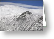 Mt. Washington Greeting Cards - Mount Washington NH - Tuckerman Ravine Greeting Card by Erin Paul Donovan