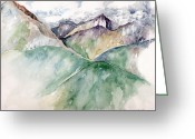 Award Greeting Cards - Mountain View Colorado Greeting Card by Catherine Twomey