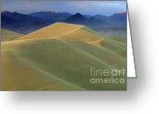Mountains Of Sand Greeting Cards - Mountains Of Sand 2 Greeting Card by Bob Christopher