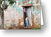 Christopher Gaston Greeting Cards - Mozambique - Land of Hope Greeting Card by Christopher Gaston