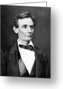 President Greeting Cards - Mr. Lincoln Greeting Card by War Is Hell Store