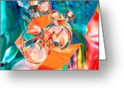 Tor Painting Greeting Cards - Msn Greeting Card by Buddy Paul