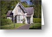 Gabled Greeting Cards - Muckross Cottage Killarney Ireland Greeting Card by Teresa Mucha