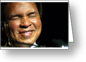 Washington Post Greeting Cards - Muhammad Ali  Greeting Card by Rebecca DAngelo