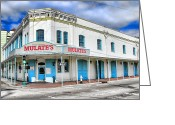 Club Greeting Cards - Mulates New Orleans Greeting Card by Olivier Le Queinec