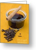 Cinnamon Greeting Cards - Mulled wine Greeting Card by Frank Tschakert