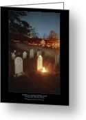 Antietam Greeting Cards - Mumma Cemetery and Farm 96 Greeting Card by Judi Quelland