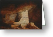 Jerry Mcelroy Greeting Cards - Mummy Cave  Greeting Card by Jerry McElroy
