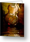 Sheet Music Digital Art Greeting Cards - Music In Me Greeting Card by Michael Petrizzo