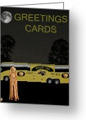 Motown Scream Tour Greeting Cards - Music Tour Scream Greeting Card by Eric Kempson