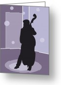 Philharmonic Greeting Cards - Musician Greeting Card by Design Windmill
