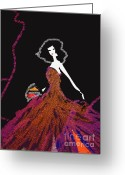 Bizet Greeting Cards - My Carmen Greeting Card by Zbigniew Rusin