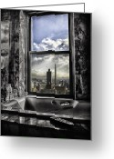 Madeline Ellis Greeting Cards - My favorite channel is Manhattan View Greeting Card by Madeline Ellis
