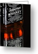 Jack Daniels Greeting Cards - My Friend Jack Greeting Card by Vee Robillard