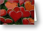 Loved Ones. Greeting Cards - My funny valentine Greeting Card by Marcus Hammerschmitt
