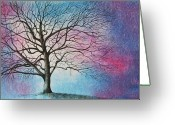 Maryann Stafford Greeting Cards - My Oak Tree Greeting Card by MaryAnn Stafford