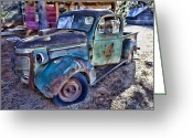 Wreck Greeting Cards - My old truck Greeting Card by Garry Gay