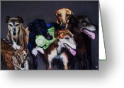 Canine Art Greeting Cards - My teachers Greeting Card by Frances Marino