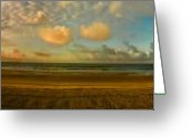Myrtle Beach South Carolina Greeting Cards - Myrtle Beach Panorama Greeting Card by Jeff Breiman