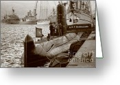 Nato Greeting Cards - N R P Barracuda Greeting Card by Gaspar Avila
