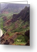 Na Pali Coast Kauai Greeting Cards - Na Pali Coast Greeting Card by Amy Fose