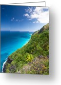 Na Pali Coast Kauai Greeting Cards - Na Pali Coast, Kauai, Hawaii Greeting Card by Ingmar Wesemann