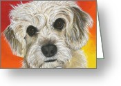 Debbie Brown Greeting Cards - Nala Greeting Card by Debbie Brown