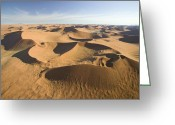 Birds Eye Greeting Cards - Namib Desert Greeting Card by Namib Desert