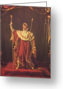 Emperor Greeting Cards - Napoleon Greeting Card by War Is Hell Store