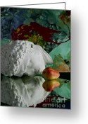 Karo Evans Greeting Cards - Narcisse#B Greeting Card by Karo Evans