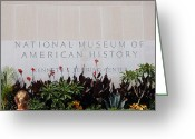National Museum Of America History Greeting Cards - National Museum of American History Greeting Card by LeeAnn McLaneGoetz McLaneGoetzStudioLLCcom