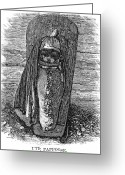 Ute Greeting Cards - Native American Papoose: Ute, 1879 Greeting Card by Granger